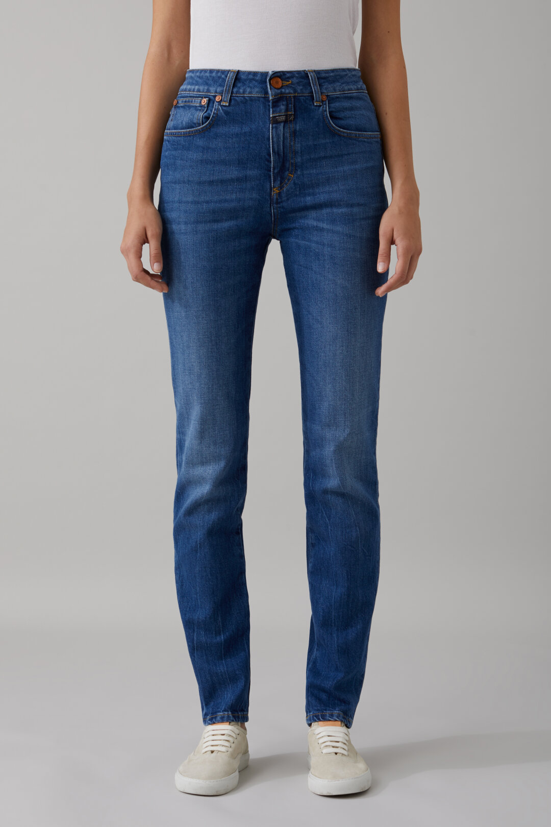 Britney Authentic Blue Stretch Denim
