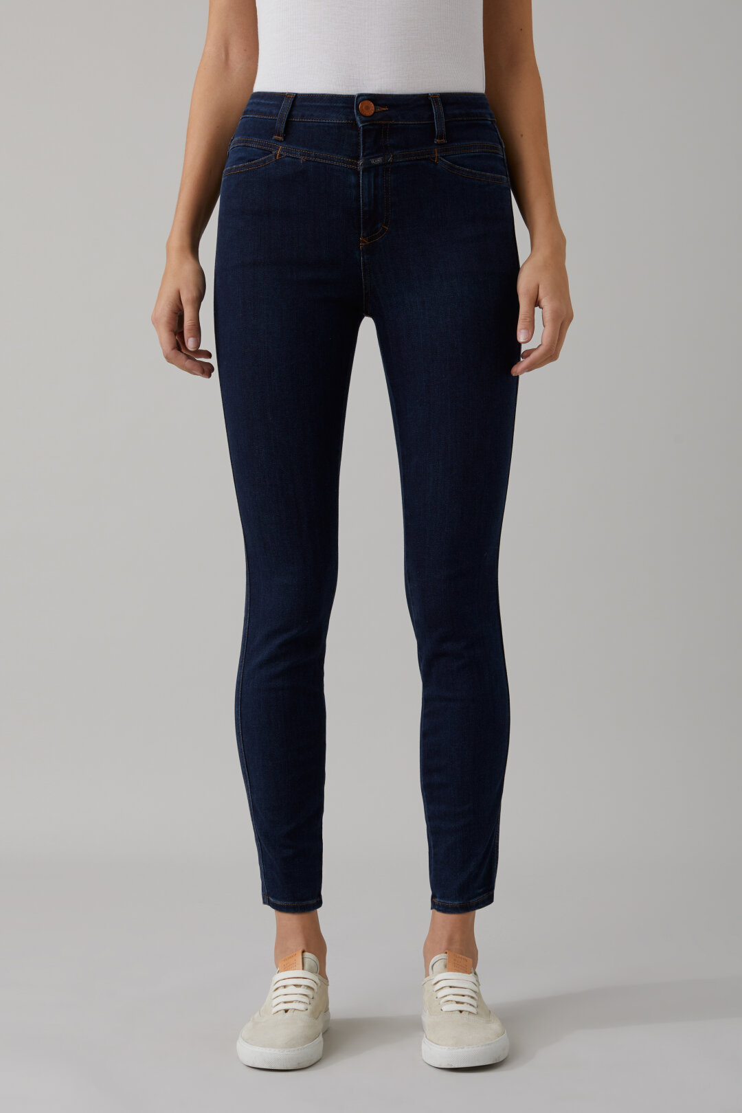 Skinny Pusher Blue Power Stretch Denim