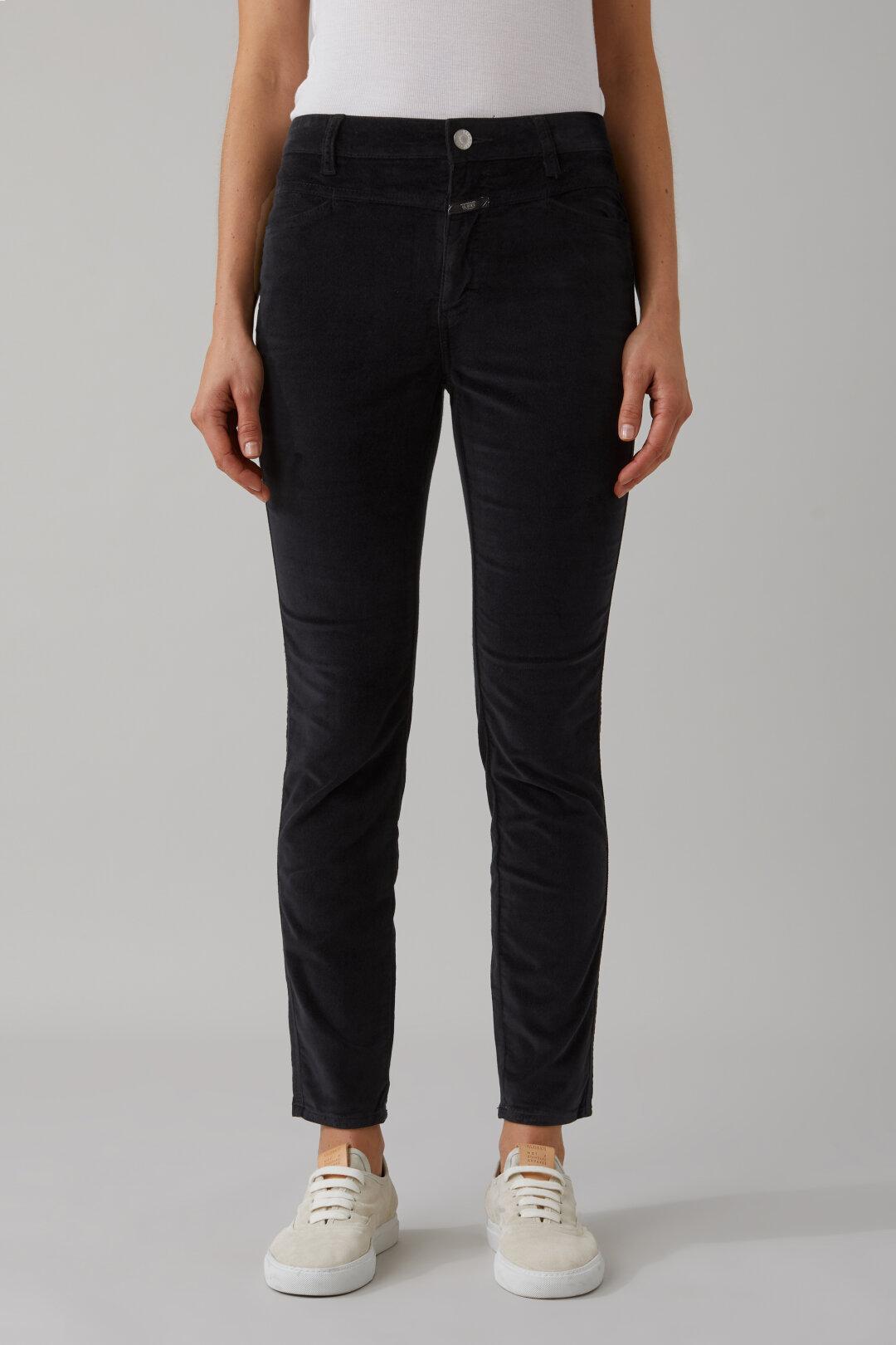 Skinny Pusher Velvet Pants