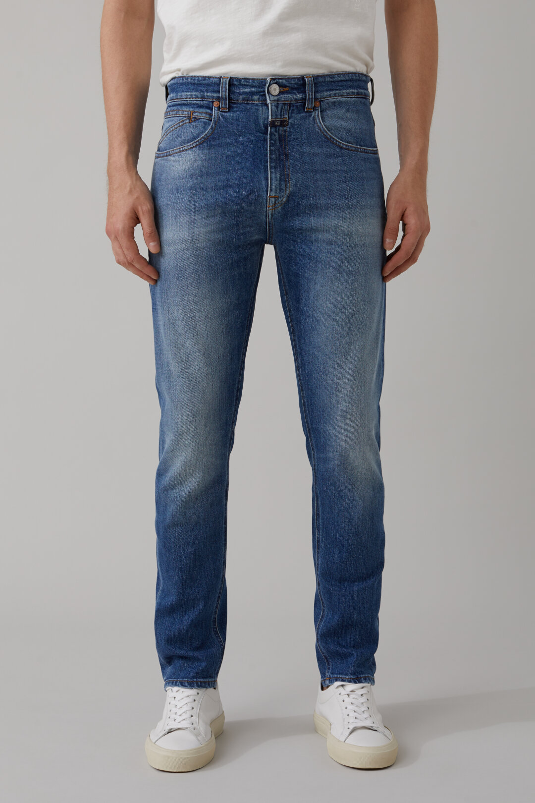 Cooper Tapered Organic Blue Denim